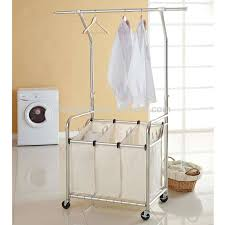 laundry separator hamper high quality laundry hamper with lift hanger and laundry sorter