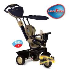 Smart Trike Recliner Smart Trike 191 2700 Tricycle Recliner Stroller 4 In 1 Blue