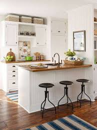 white cabinets with butcher block countertops small open kitchen designs with white cabinets and butcher block