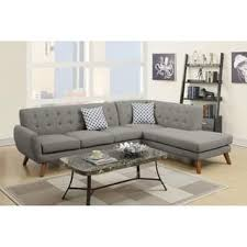 Straight Sectional Sofas Black Sectional Sofas Shop The Best Deals For Nov 2017