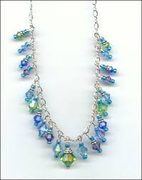 crystal bead necklace jewelry images Jewelry by susanne buxton jpg