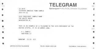 how do you send a telegram government telegrams