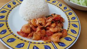 recette de cuisine malagasy recette crevettes sauce malagasy