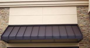 Standing Seam Awnings Metal Roofing Aaa Metal Works Roofing Gutters Leafree Metro