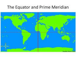map of equator longitude and latitude ppt