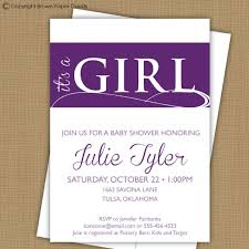 purple and grey baby shower invitations baby shower invitations wording for diaper raffle wedding
