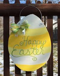 Wooden Hanging Easter Decorations by 355 Best Easter Door Hangers Images On Pinterest Easter Crafts