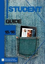 student guide university of alicante year 2015 16 by oficina de
