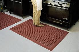 Rubber Kitchen Flooring by Kitchen Accessories Curved Pattern Black Rubber Kitchen Floor