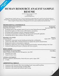 Sample Hr Manager Resume Hr Resume Template Hr Resume In Pdf Human Resources Manager Job