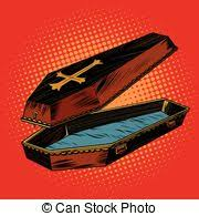 wooden coffin vector illustration of wooden coffin csp3620202 search clipart