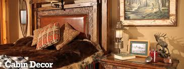 rustic cabin decorating u0026 furnishings log cabin u0026 lodge cabin decor