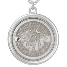 new orleans water meter necklace sewerage and water board gifts on zazzle