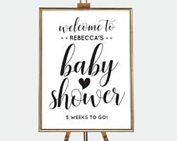 baby shower signs baby shower welcome sign printable chalkboard baby shower