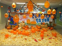 How To Decorate Your Cubicle For Halloween Create Your Own Office Pumpkin Patch Photo Credit Glassdoor
