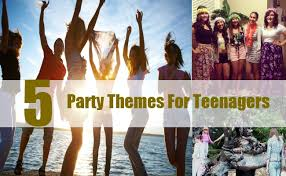 party themes party themes for teenagers party themes for bash corner
