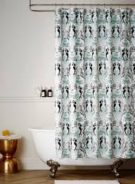 Turquoise Shower Curtains Mermaids Shower Curtain Hygge West