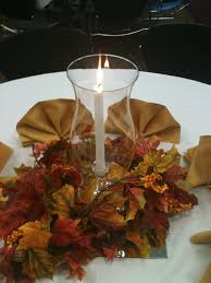 Anniversary Table Centerpieces by Easy Fall Table Centerpiece With A Mirror Tile Hurricane Globe