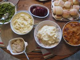 a traditional southern thanksgiving menu with recipes