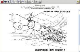 2004 honda accord oxygen sensor 2004 honda accord trouble codes computer problem 2004 honda