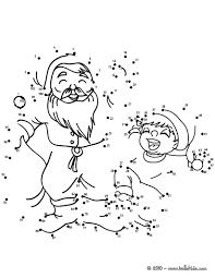 generous santa claus coloring pages hellokids com