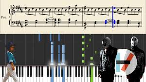 Twenty One Pilots Kitchen Sink Piano Tutorial Sheets YouTube - Kitchen sink music