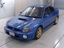subaru bugeye jdm 2002 subaru impreza wrx sti 92 758km b pro auto