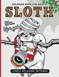 sloth coloring book archives sharesloth