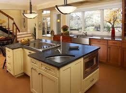 kitchen wooden kitchen with cream kitchen island feat corner