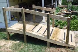 Wheel Chair Ramp How To Build A Handicap Ramp When You Are Not A Carpenter Youtube
