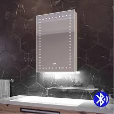 clock colour change under lighting audio bluetooth bathroom