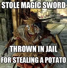 Skyrim Meme - skyrim meme thief1 jpg