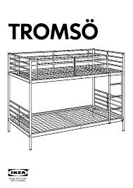 TROMSÖ Bunk Bed Frame White IKEA United States IKEAPEDIA - Tromso bunk bed