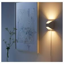 vikt led wall lamp ikea