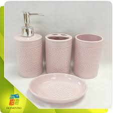 great pink bathroom accessories sets and 25 best pink bathroom