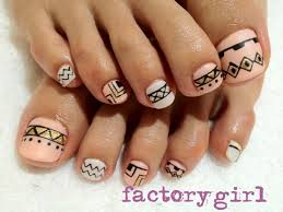 25 best tribal toes ideas on pinterest tribal toe nails cute