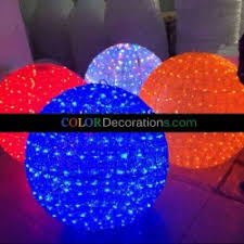 Outdoor Lighted Christmas Wall Decorations by Lighted Christmas Ball Led Christmas Decorations Colordecorations