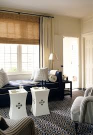 collection in white curtains with navy trim and 35 best curtain