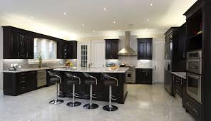 gray kitchen with natural kitchen cabinets amazing home design