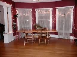 dining room curtain ideas red curtains interior whiteden window by