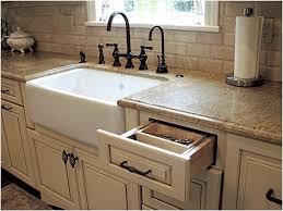 Farmhouse Style Kitchen Sinks Farmhouse Style Kitchen Sink Elegantly Elysee Magazine