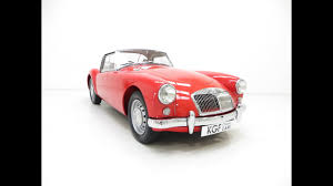 an original uk supplied mga 1500 roadster with exceptional