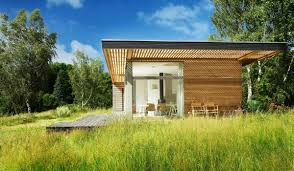 Prefab Guest House With Bathroom by Shed Roof Small House Bliss