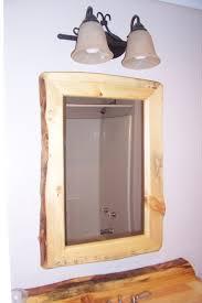 Wood Bathroom Mirror by Bathroom Large Bathroom Medicine Cabinet With Tri Mirrors