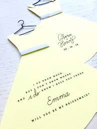 bridesmaid invitations kaelan fennell bridesmaid invitations