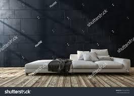 large generic white sofa living room stock illustration 701347924