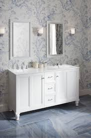 Wallpaper Designs For Bathrooms by 17 Best Delft Blue Bathroom Images On Pinterest Blue Bathrooms