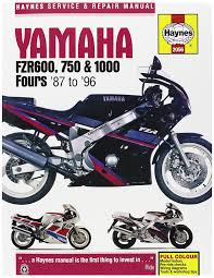 amazon com haynes manuals manual yam fzr600 1000 87 98 automotive
