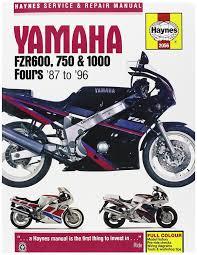amazon com manual yam fzr600 1000 87 98 automotive