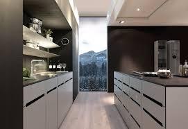 luxus küche grosse luxus küche mit insel und grifflosen küchenfronten aus